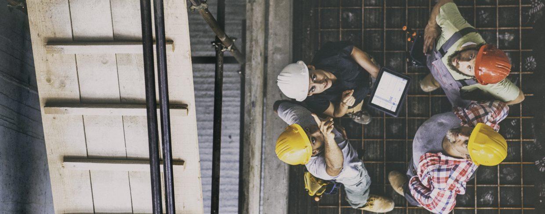 Samenwerken in een bouwomgeving